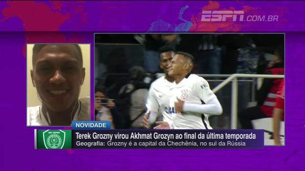 Léo Jaba comenta desafio de jogar no Grozny e projeta futuro: 'Se eu fizer uma boa liga, outros clubes vão me olhar'