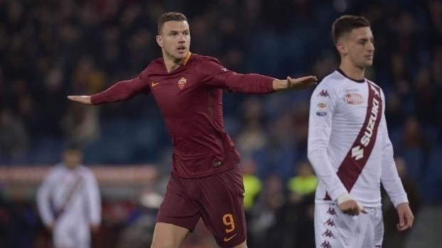 Italiano: Gols de Roma 4 x 1 Torino