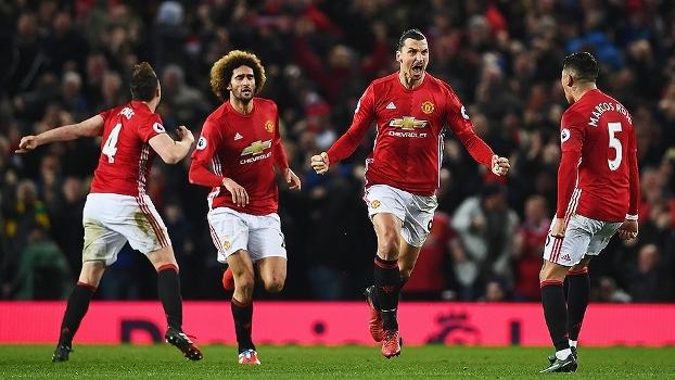 Premier League: Melhores momentos de Manchester United 1 x 1 Liverpool