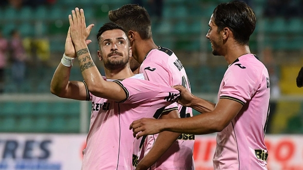 Empoli perde para Palermo já rebaixado e também cai para a segunda divisão
