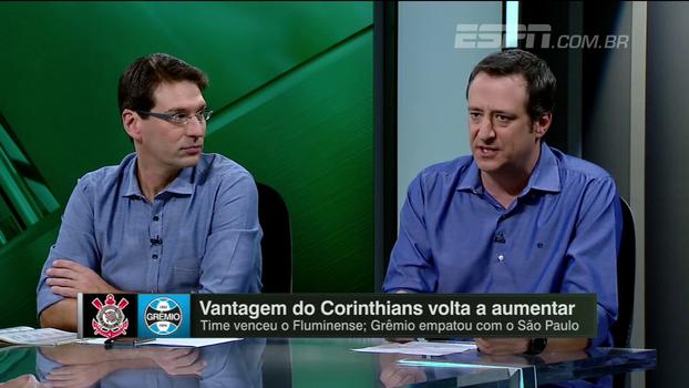 Solidez defensiva x capacidade de troca de passes: Gian analisa Corinthians e Grêmio