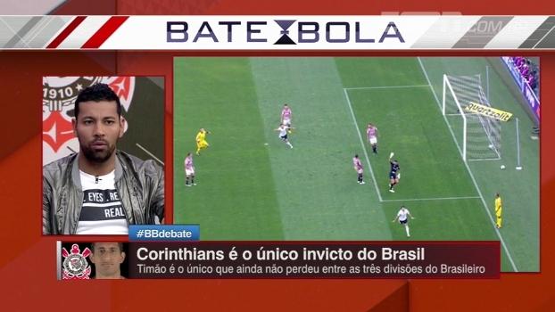 André Santos destaca Carille e Arana e elogia momento do Corinthians