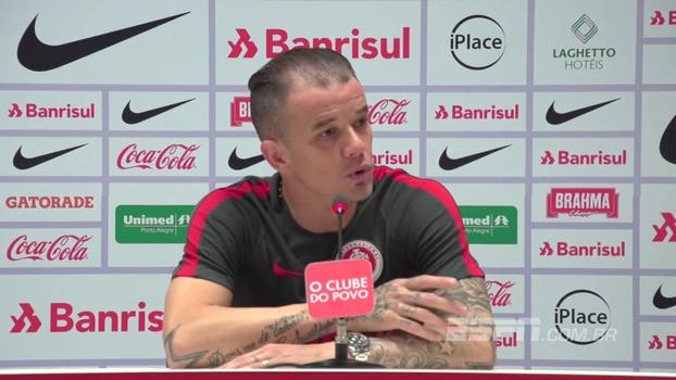 D'Alessandro, sobre Série B: 'Obrigação não é ganhar, obrigação é jogar bem'