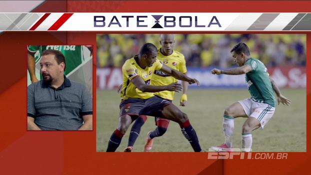 Alê Oliveira elogia Luan, questiona Zé na lateral e analisa mudanças do Palmeiras no intervalo de jogo