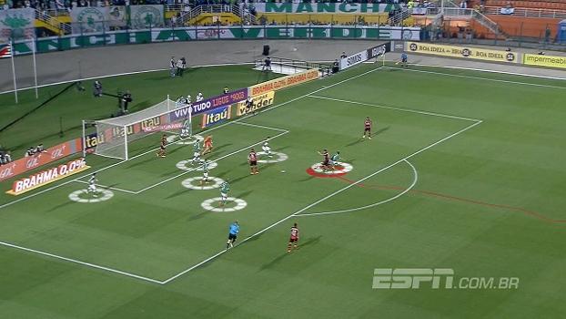 Flamengo tem ataque forte pela esquerda, mas peca na defesa pelo lado direito; Mauro Cezar analisa