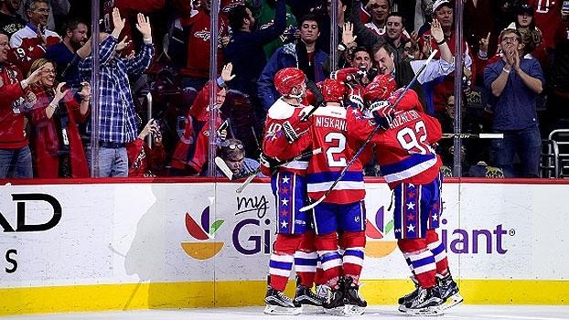 Capitals seguram pressão e vencem os Devils em New Jersey
