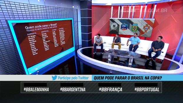 Que seleção pode parar o Brasil na Copa? BB Debate opina!