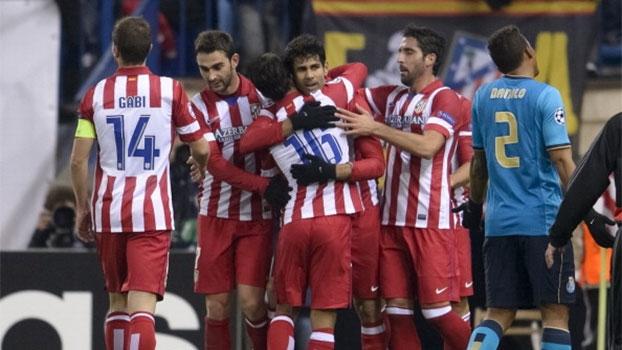 Champions League: Gols de Atlético de Madri 2 x 0 Porto