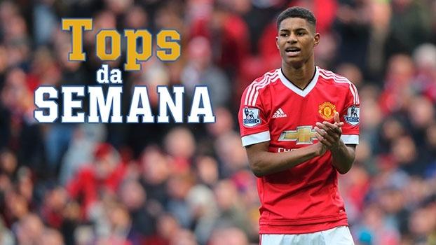 Surgimento de uma estrela no United, 'muralha' do Manchester City e golaço de El Shaarawy no Tops da Semana
