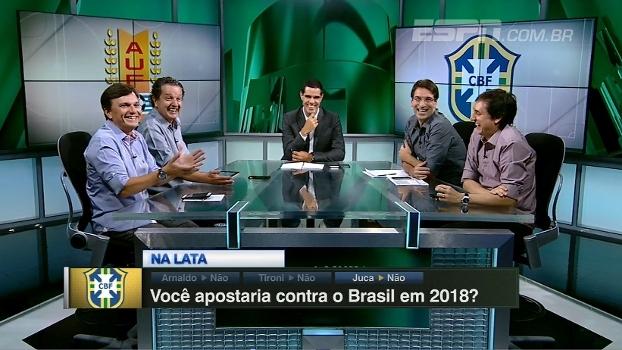 Na lata: você apostaria contra o Brasil em 2018?