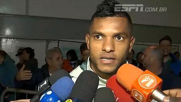 Borja vê dificuldades em adaptação e explica principal diferença na forma de jogar no Palmeiras