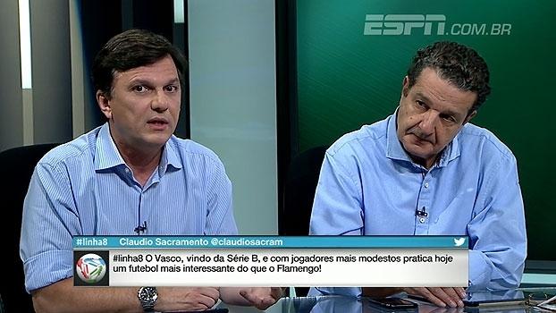 Mauro aponta calendário favorável para o Vasco e pondera posição na tabela: 'É uma ilusão'