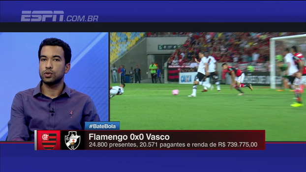 Para Breiller, Vasco precisa melhorar na criação: 'Produção ofensiva foi muito pobre novamente'