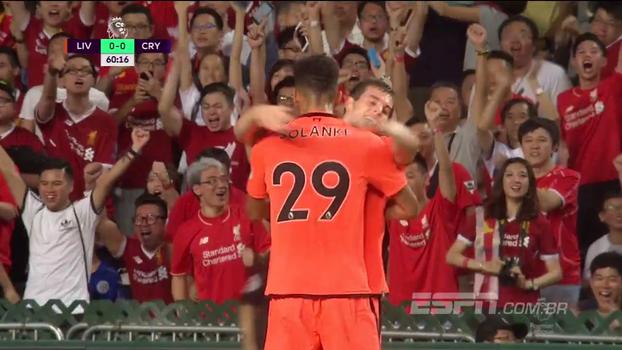 Assista aos melhores momentos da vitória do Liverpool sobre o Crystal Palace por 2 a 0