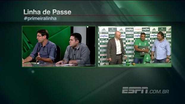 Sem Mina, Bertozzi diz que Palmeiras ainda precisa de um zagueiro