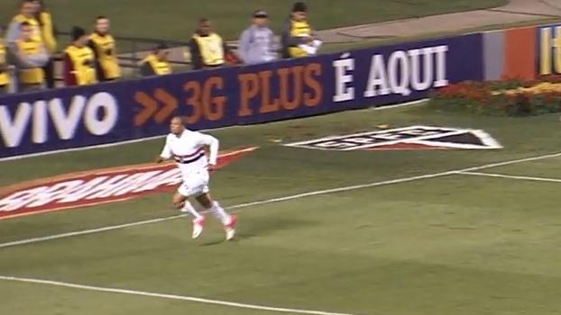 Com belos gols de Lucas e Luis Fabiano, São Paulo goleou o Botafogo em 2012