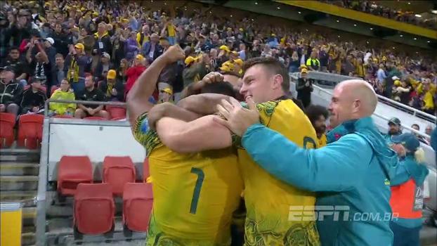 Após dois anos, Austrália volta a vencer Nova Zelândia e 'carimba faixa' da Bledisloe Cup