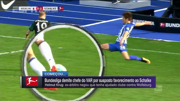 Chefe dos árbitros de vídeo da Alemanha é demitido por suposto favorecimento ao Schalke; entenda