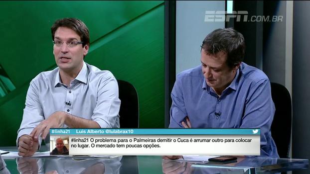 Arnaldo: 'O Zé Ricardo tinha que pegar essa de qualquer jeito, mas é um baita risco para o Vasco'