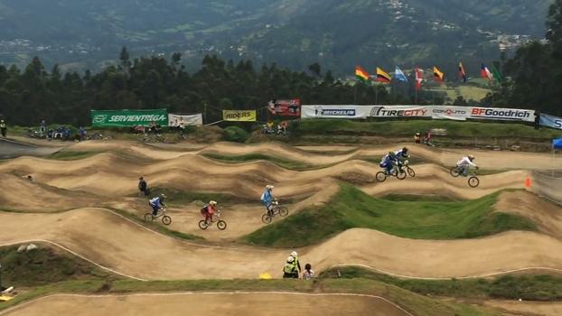 Brasileiros dominam o pódio do Pan-Americano de Bicicross
