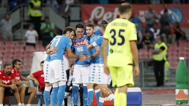Italiano: Gols de Napoli 3 x 1 Bologna
