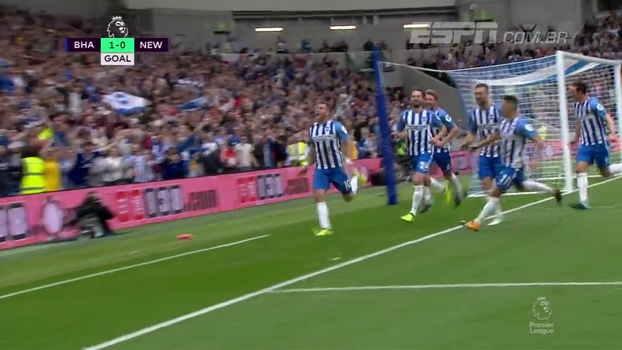 Premier League: Gol de Brighton 1 x 0 Newcastle