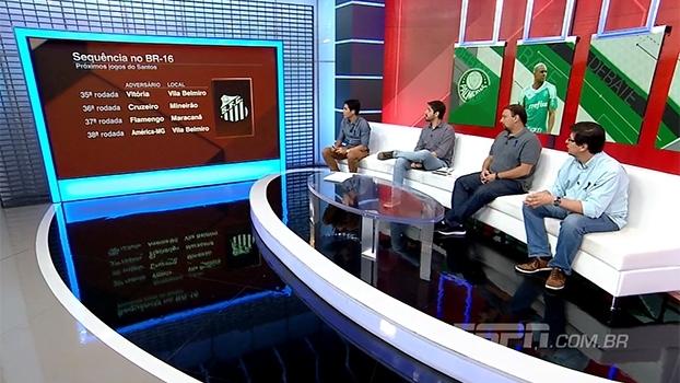 Com sequência difícil, o Santos conseguirá brigar pelo título? Bate Bola analisa