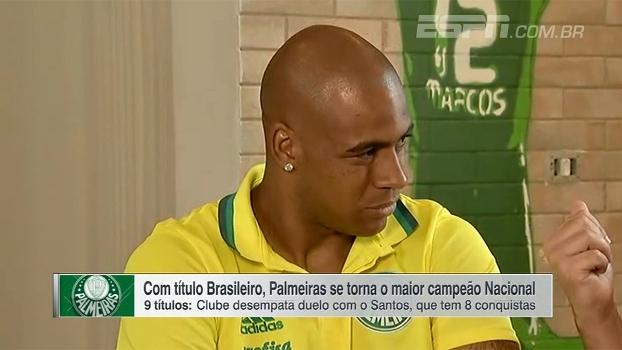 Jaílson ressalta importância de Fernando Prass e fala sobre idolatria por Marcos