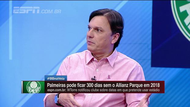 Mauro: acordo do Palmeiras com a WTorre foi o melhor 'disparado' de um clube brasileiro por estádio