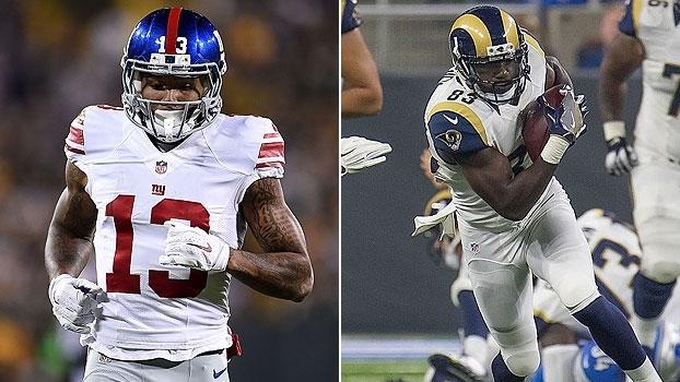 Giants x Rams na Inglaterra é destaque na rodada da NFL
