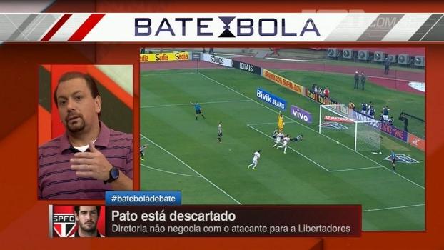 Alê Oliveira: 'São Paulo pagar 800 mil por mês para o Pato seria loucura'