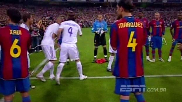 8 dias para Real x Barça: relembre quando os Merengues, já campeões, foram recebidos com aplausos pelo Barcelona