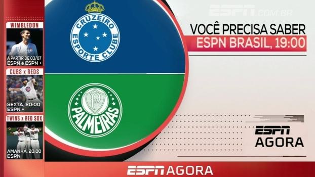 Brasileirão sub-20 e Especial Guga; veja a programação dos canais ESPN nesta quarta-feira
