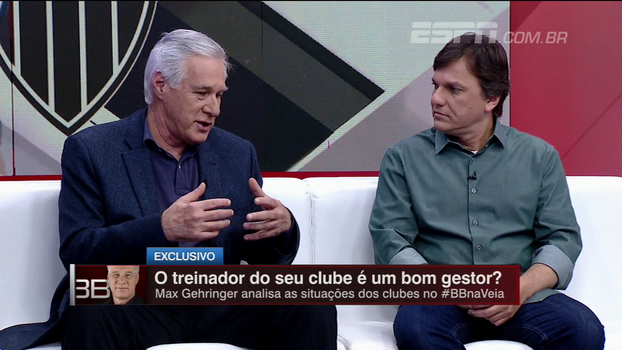 Max Gehringer diz que técnicos brasileiros vivem de maneira nômade: 'O longo prazo é este fim de semana'