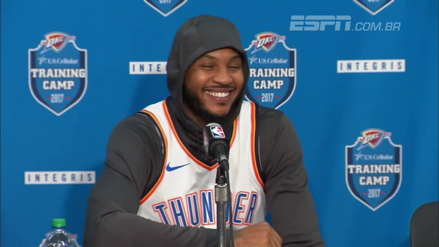 Carmelo Anthony é o novo reforço do Oklahoma City Thunder