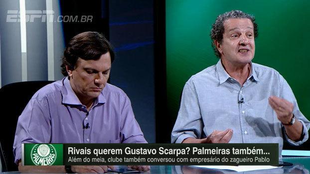 Juca questiona postura do Palmeiras no mercado e faz paralelo com atitude de Leila Pereira: 'Se acha dona do mundo'