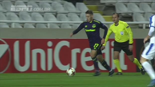 Assista aos gols da vitória do Everton sobre o Apollon Limassol por 3 a 0!