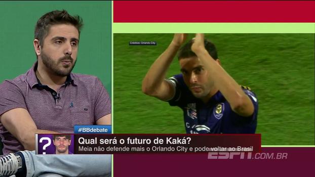 Nicola: São Paulo esperar iniciar conversas com Kaká nos próximos dias, mas há problema de agenda