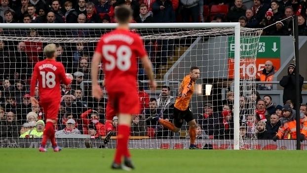 Copa da Inglaterra: Gols de Liverpool 1 x 2 Wolverhampton