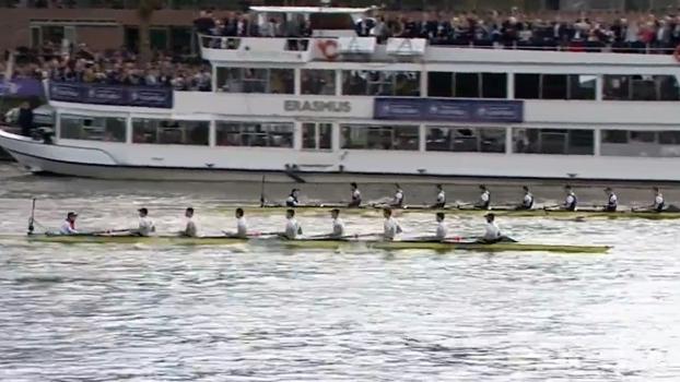 Oxford vence Cambridge na 163ª edição da regata no rio Tamisa