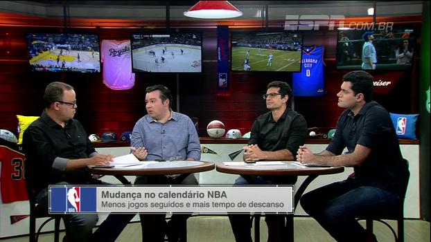 'ESPN League' analisa mudanças no calendário da NBA e Antony Curti lembra: 'Jogadores mandaram recado que foi ouvido'