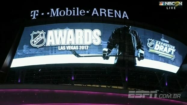 Veja como foi a festa dos melhores da temporada da NHL e a montagem do Vegas Golden Knights, a nova franquia da liga