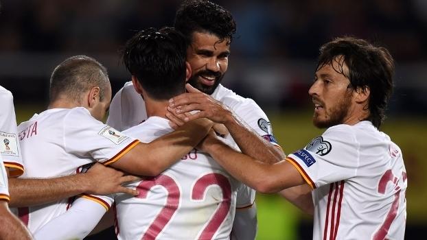 Veja os gols da vitória da Espanha sobre a Macedônia por 2 a 1