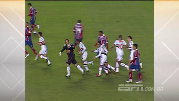 Cobertura de Dagoberto, arrancada de Lucas e gol de Rogério Ceni: em 2011, São Paulo bateu Bahia
