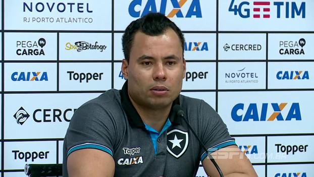 Jair diz que ainda vai rever o gesto de Bruno Silva e comenta ausência de Pimpão e vaias a Guilherme