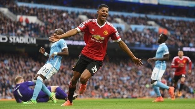 Resultado de imagem para Manchester United x Manchester City