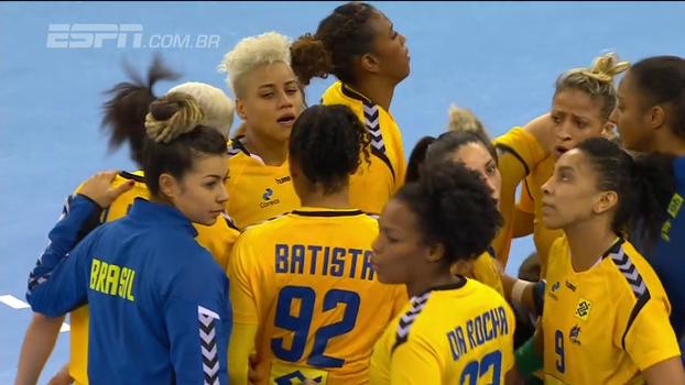 Seleção brasileira feminina de handebol conquista primeira vitória no Mundial na Alemanha