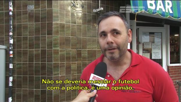 Torcedor do Espanyol fala em referendo inconstitucional: 'Não se deveria mesclar futebol com a política'