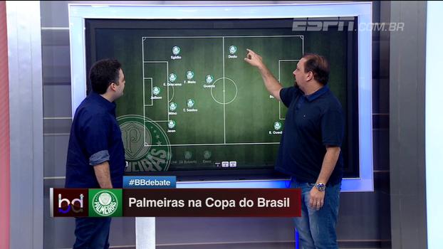 Três volantes? Guedes ou Borja? Dupla BB monta possíveis Palmeiras para enfrentar o Cruzeiro