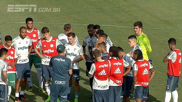 Após vitória na Libertadores, alegria de Mina estrela o dia do Palmeiras